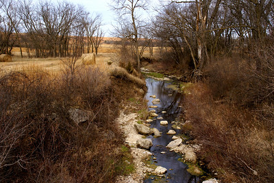 Horne Branch Creek - eastern Geary County
