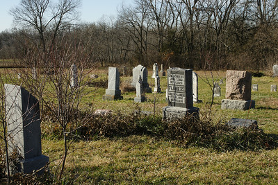 Little Cross Creek Cemetery - western Jackson County