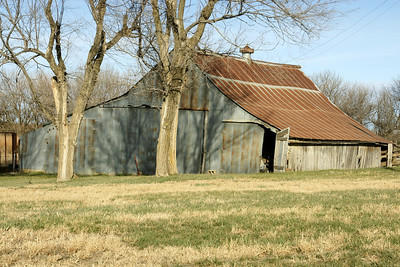 Old barn - southern Jackson County
