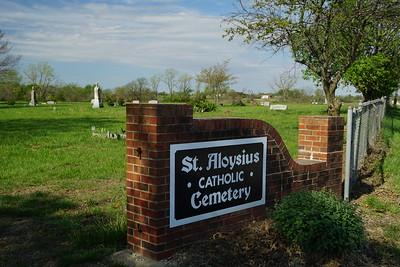 St Aloysius Cemetery near Meriden