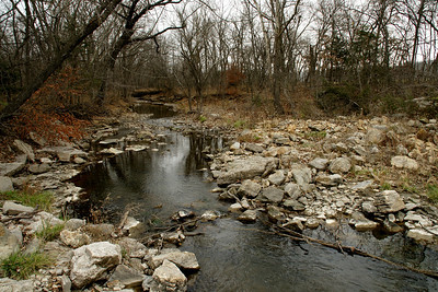 Unnamed creek along 175th near Missouri border