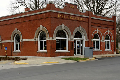 """Bank of Knowledge"" - the Edgerton public library"