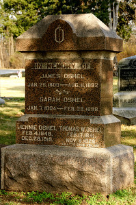 Prairie Center Cemetery - western Johnson County. Note the birth date of 1800!