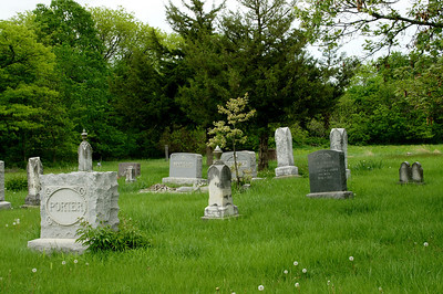 Eagle Cemetery north of Tonganoxie