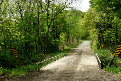 Little Plum Creek bridge west of Kickapoo