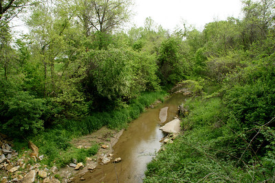 Little Plum Creek west of Kickapoo