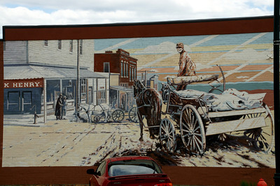Mural in Tonganoxie
