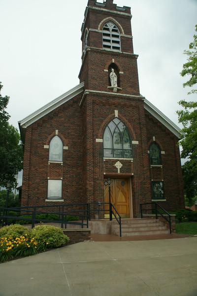 Catholic church in Beattie