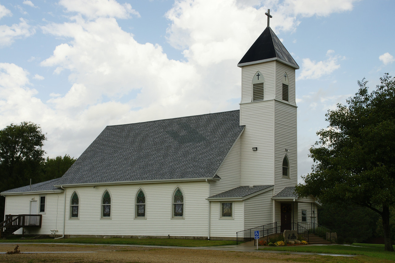 St Monica / St Elizabeth Catholic church in Blue Rapids