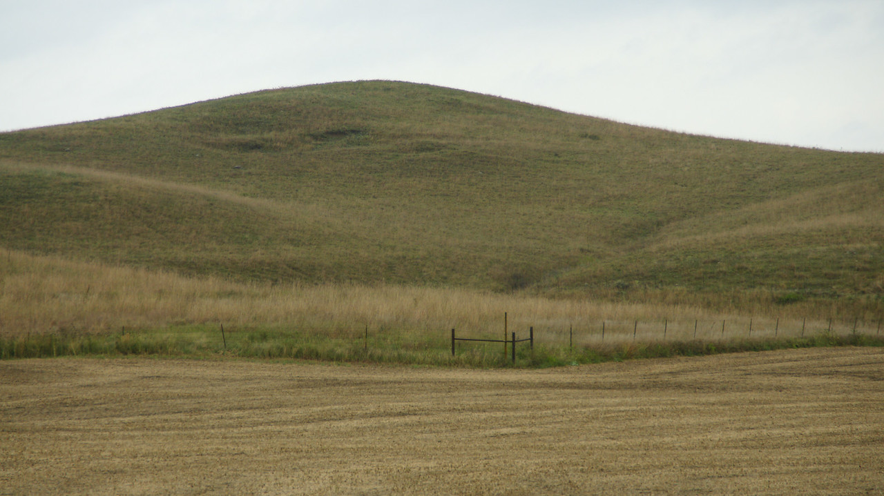 Indian Mound - southwest Marshall County