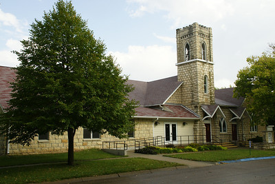Limestone Methodist Church in Blue Rapids
