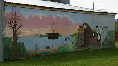 Mural in downtown Vermillion