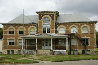 Historic 1903 Grade School building in Frankfort