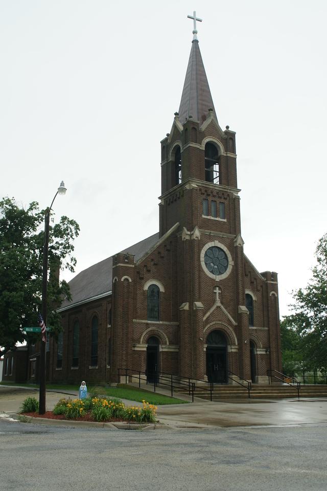 Holy Family Catholic church in Summerfield