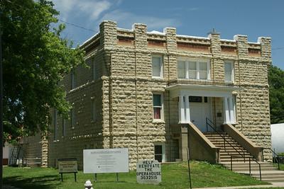 Limestone Opera house in Waterville