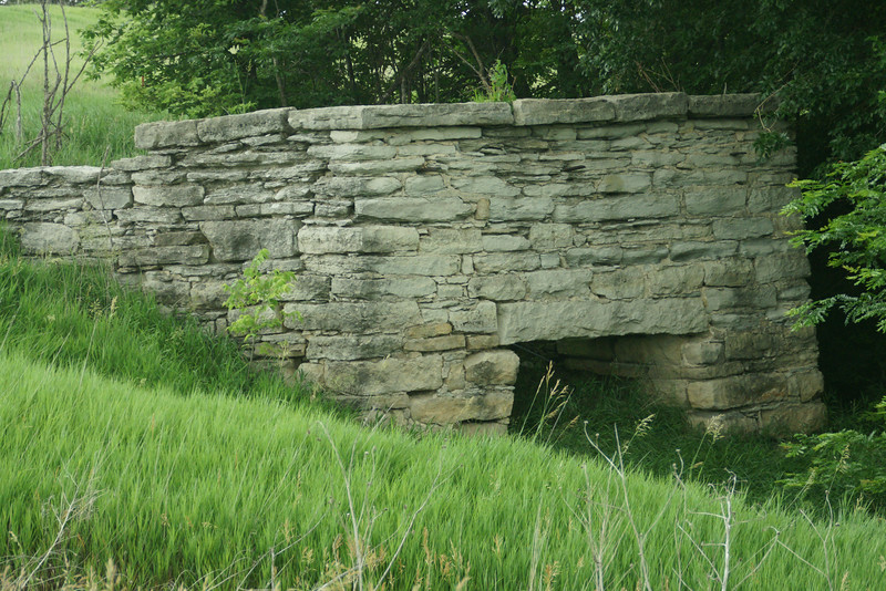 Limestone kiln near Beattie