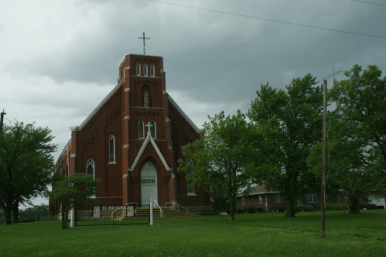 St Bridget Catholic Church north of Axtell