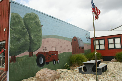 Mural in downtown Frankfort