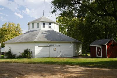 Floral Hall in Blue Rapids city park