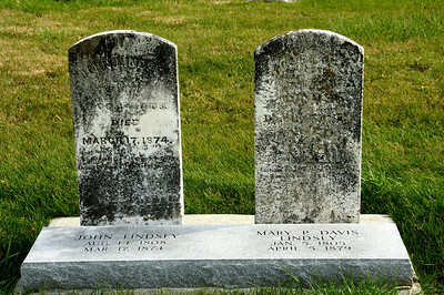 Restored Tombstones at Rockville Cemetery
