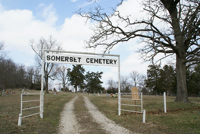 Somerset Cemetery between Paola and Louisburg