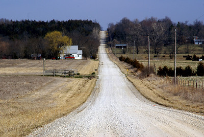 Hills in western Miami County