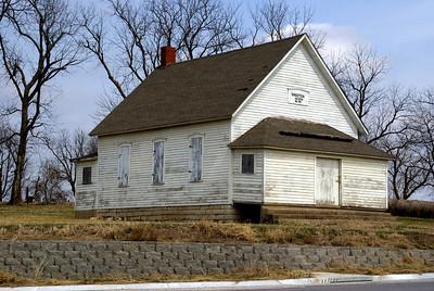 1886 School near Wagstaff