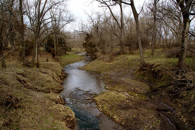 Stream near North Wea Creek west of Louisburg