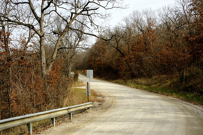 Road near LaCygne Lake - southeast Miami County
