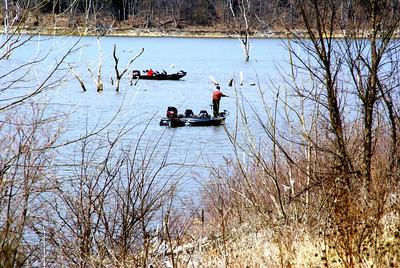 Fishing on Hillsdale Lake