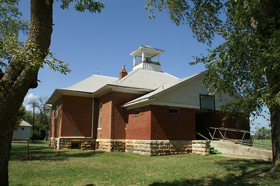 Former school in Burdick