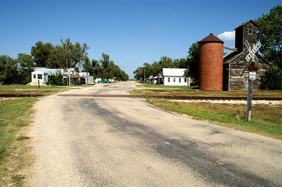 Main Street in Burdick