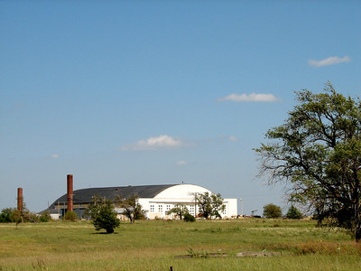 Building at former Herington Army Air Field
