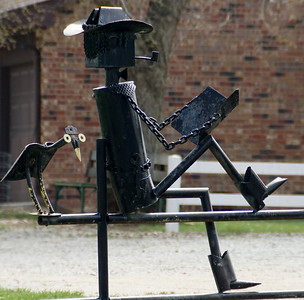 Mailbox art in northwest Nemaha County