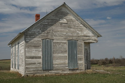 Abandoned school - northwest Nemaha County