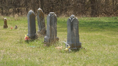 Four Mile Cemetery in northern Nemaha County