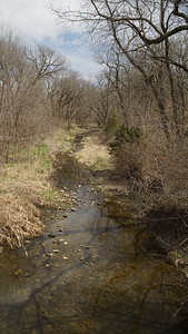 Four Mile Creek in northern Nemaha County