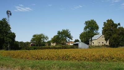Farmstead along Mill Creek near Wheaton