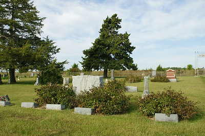 Admantha Cemetery southwest of Westmoreland.