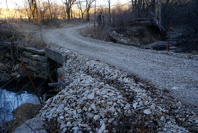 Bridge over Nehring Creek northeast of Hessdale
