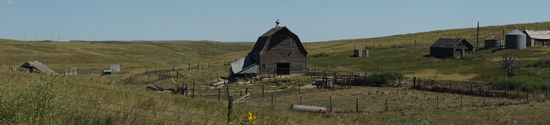 Abandoned Farmstead Panorama