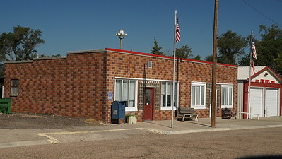 Post office in Jennings