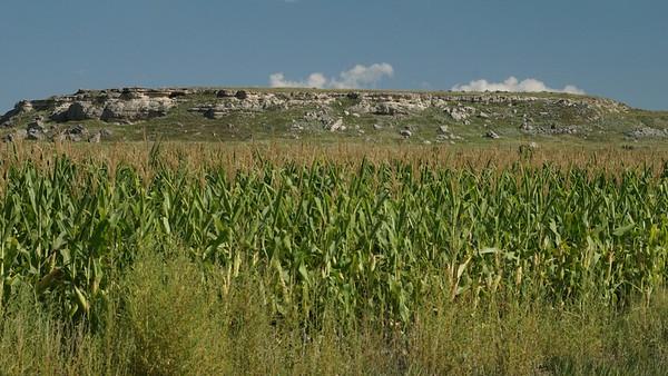 Rocky hillside southwest of Oberlin