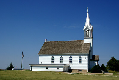 St John Lutheran church north of Ellis