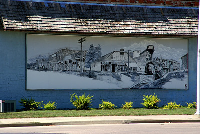Mural in Ellis