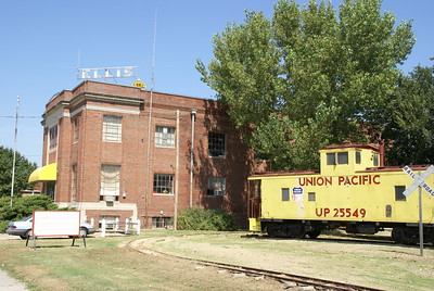 Railroad museum in Ellis