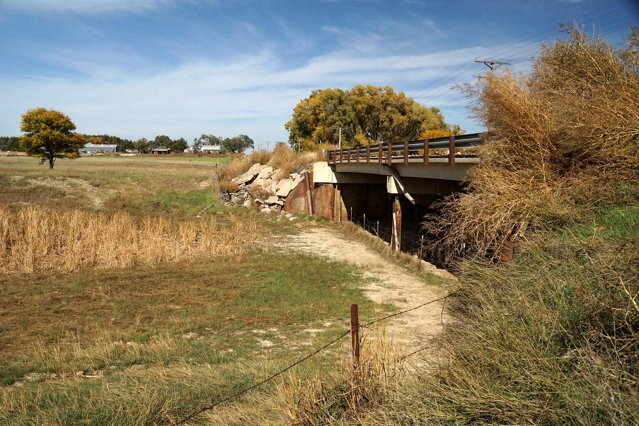 Indian Creek bridge