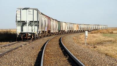 Railroad Grain Cars