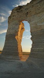 Keyhole at Monument Rocks
