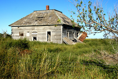 Abandoned house - southern Graham County